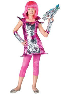Light Up Cosmic Costume For Children
