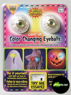 Light-up Eyeball Set
