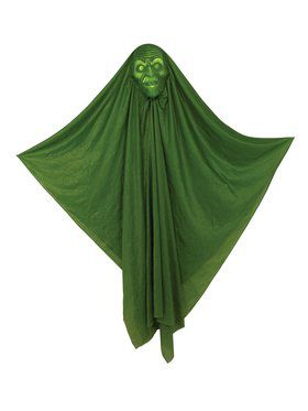 "Light Up Hidden Face 60"" Witch Decoration"