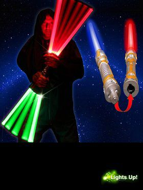 Light Up LED Saber Sword