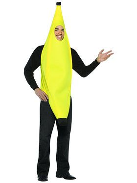 Lightweight Banana Unisex Adult Costume