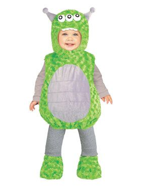 Lil' Alien Costume For Toddlers