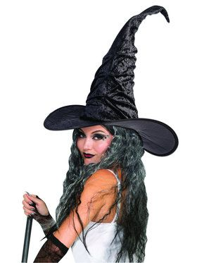 Vintage Witch Hat Costume Accessory