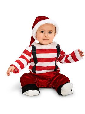 Baby Lil' Elf Costume For Babies