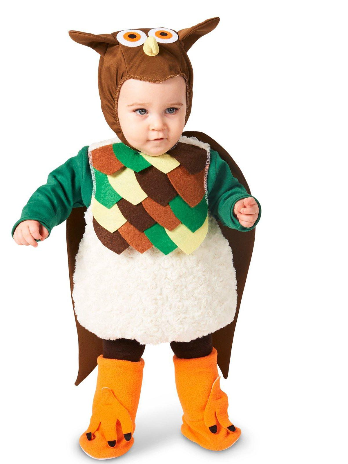 baby lil' hoot owl costume for babies - baby/toddler costumes for