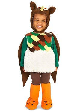 Lil' Hoot Owl Costume For Toddlers