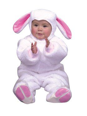Lil Lamb w/Snap Tape - Micro Fiber Child Costume