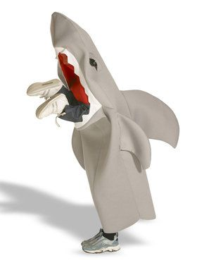 Lil' Man Eating Shark Child Costume