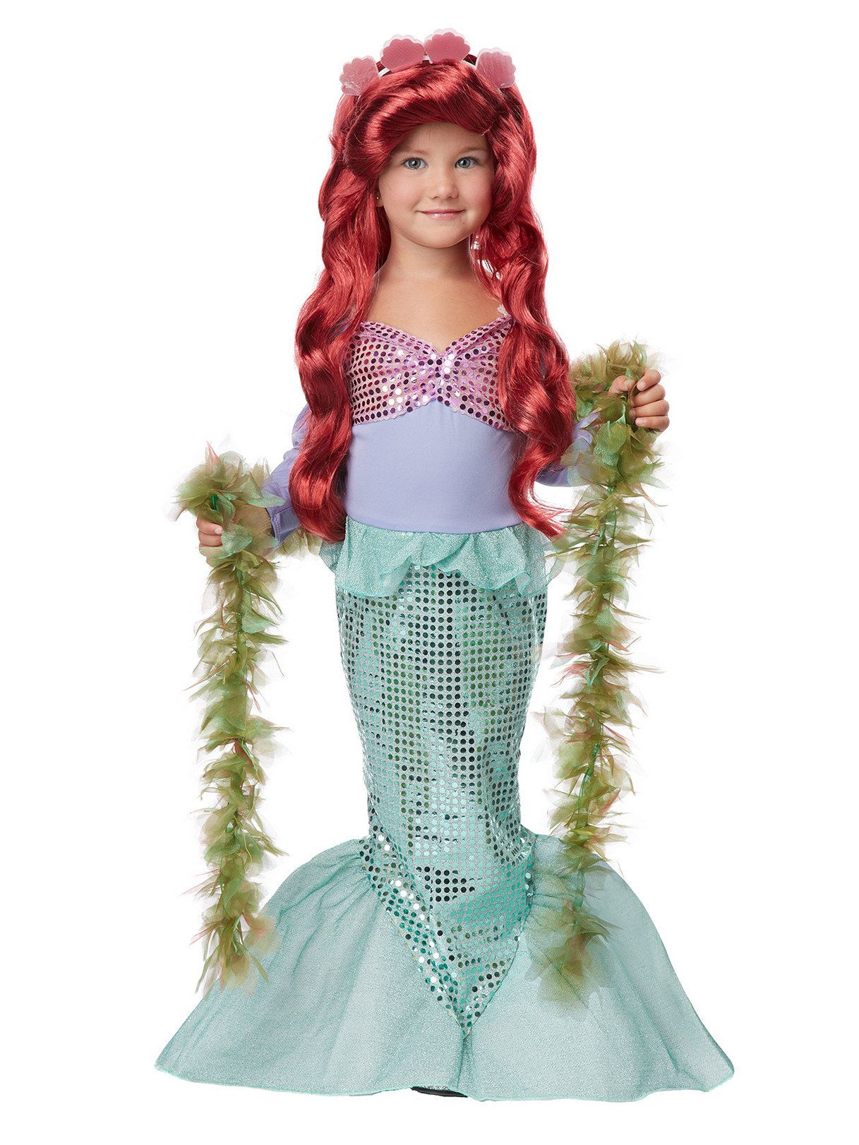 Lil` Mermaid Costume for Toddler  sc 1 st  Wholesale Halloween Costumes & Lil` Mermaid Costume for Toddler - Baby/Toddler Costumes for 2018 ...