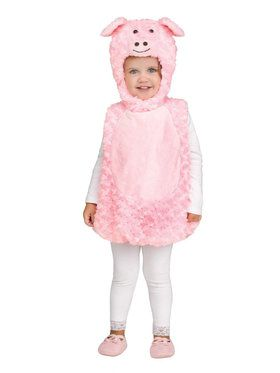 Lil' Piglet Costume For Toddlers