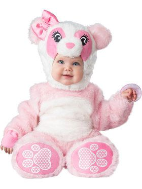Lil' Pink Panda Infant Costume for Halloween