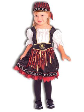 Lil' Pirate Cutie Costume For Toddlers