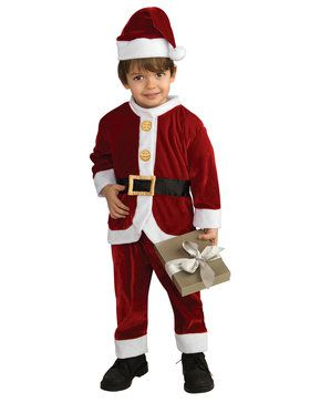 Lil Santa Suit Costume for Toddlers