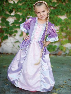 Lilac Fairytale Princess Girl's Costume