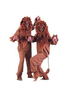 Adult's Lion Costume
