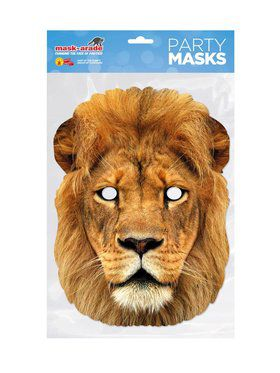 Face Mask - Lion