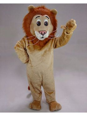 Lion Mascot Adult's Mascot Costume