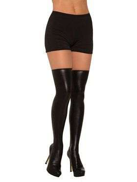 Liquid Leather Knee Highs for Women