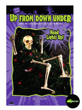 Lite-Up Risen from the Grave Skeleton