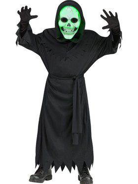 Lite Up Soul Reaper Boy's Costume