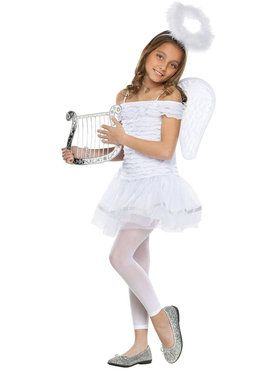 Little Angel Costume For Children