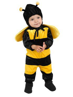 Newborn's Little Bee Costume