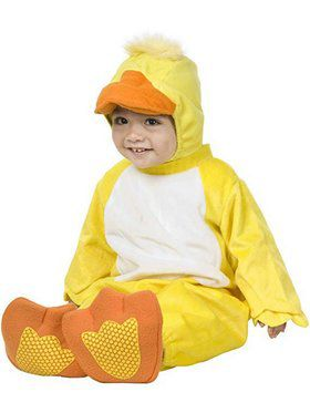 Infant's Little Ducky Costume