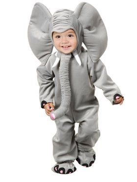 Child's Little Elephant Costume