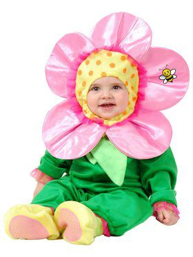 Toddler's Little Flower Costume