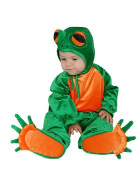 Newborn's Little Frog Costume