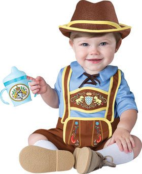 Little Lederhosen Costume Toddler