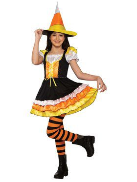 Little Miss Candy Corn Girl's Costume