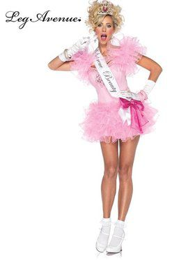 Little Miss Supreme Beauty Pageant Sexy Women's Costume