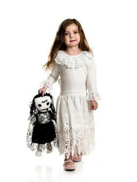 Girl's Little Miss Voodoo Costume