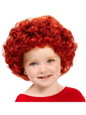 Little Orphan Girl Child Wig for Halloween