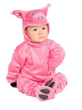 Newborn's Little Pig Costume