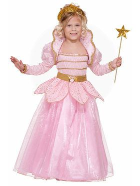 Little Pink Princess Costume For Children