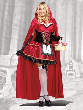 Little Red Curvy Women's Costume