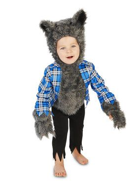 Little Werewolf Costume For Toddlers  sc 1 st  Wholesale Halloween Costumes : kids fierce werewolf costume  - Germanpascual.Com