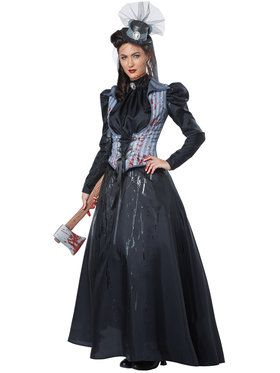 Lizzie Borden Axe Murderess Women's Costume