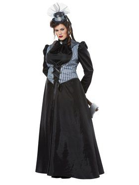 Womens Plus Size Lizzy Borden Costume