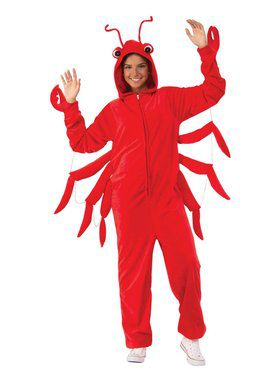 Comfy Wear Lobster Costume
