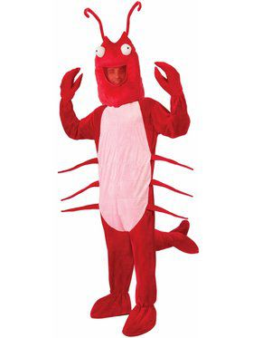Adult Lobster Mascot Costume