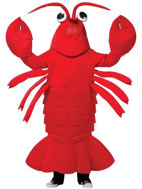 Lobster Mascot Adult Mascot Costume