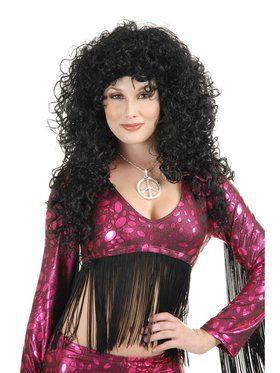 Women's Long Curly Diva Wig