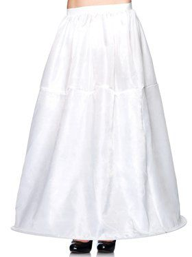 Long Hoop Skirt Adult
