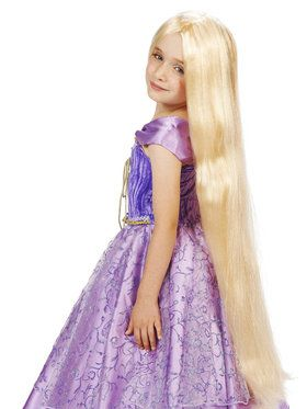 Long Princess Wig For Children