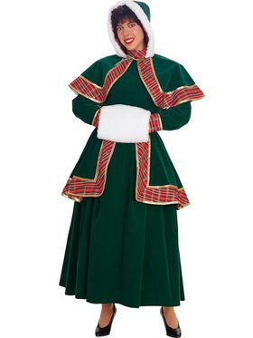 Long Victorian Caroler Adult