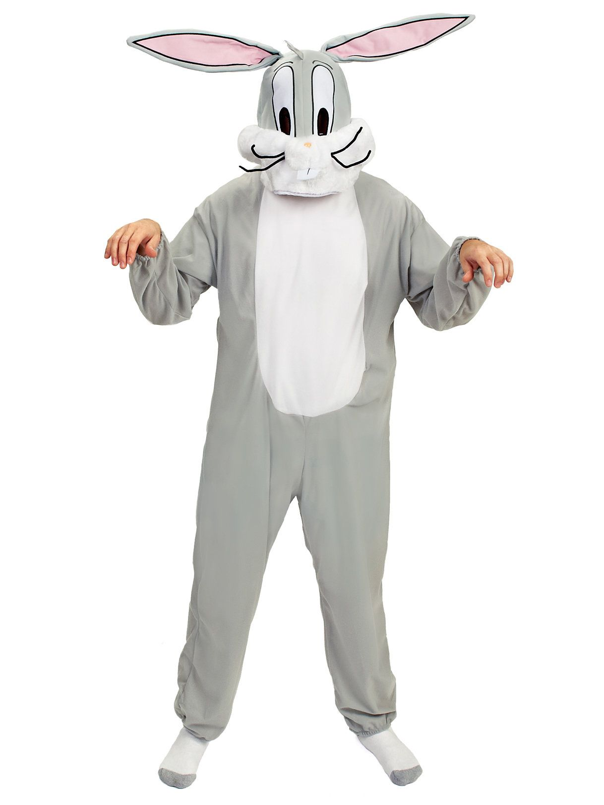looney tunes - bugs bunny adult costume - mens costumes for 2018