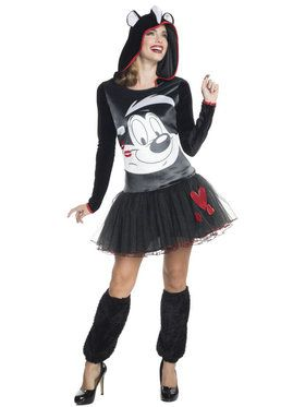 Looney Tunes Pepe Le Pew Women's Costume